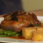 Simon Rimmer Duck With Cherries and Plums recipe on Sunday Brunch