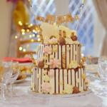 Kavita's jam roly poly themed cake recipe on Nadiya's Party Feasts