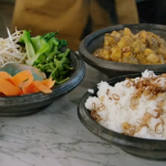 Jodie Whittaker massaman curry recipe on Jamie and Jimmy's Friday Night Feast