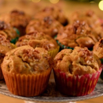 Catherine's Stilton and walnut muffins recipe on The Best Christmas Food Ever