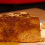 Simon Rimmer orange with cardamom and raisin cake recipe on Sunday Brunch