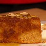 Simon Rimmer orange with cardamom and raisin cake recipe on Sunday Brunch