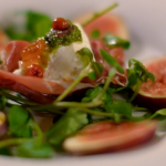 Catherine Fulvio pancetta cups with goat cheese recipe on The Best Christmas Food Ever