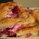 Simon Rimmer plum and cream cheese turnovers recipe Sunday Brunch