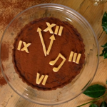 Catherine's chocolate roman numeral tart recipe on The Best Christmas Food Ever