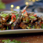 Nadiya Hussain sticky lamb ribs recipe on Nadiya's Party Feasts
