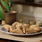 Chetna Makan sweet samosa recipe on Kirstie's Handmade Christmas