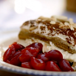 Gino's tiramisu with savoiardi biscuits and amaretto liqueur recipe