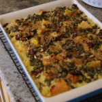 Tom Kerridge butternut squash pasta bake with white sauce recipe on Tom Kerridge's Fresh Start