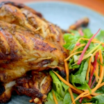 Ainsley Harriott jerk chicken with salad recipe on Ainsley's Caribbean Kitchen