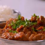 Parveen Ashraf lamb bhuna with cucumber raita recipe on Parveen's Indian Kitchen