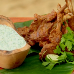Ainsley Harriott charcoal grilled lamb cutlets recipe on Ainsley's Caribbean Kitchen