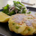 Tom Kerridge salt cod and saffron fishcake recipe on Tom Kerridge's Fresh Start