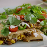 Tom Kerridge smoky chicken quesadillas recipe on Tom Kerridge's Fresh Start