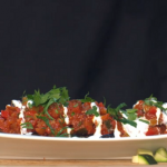 Simon Rimmer Moroccan Stuffed Aubergine recipe on Sunday Brunch