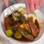 The Hairy Bikers sausage casserole with brown ale recipe on This Morning