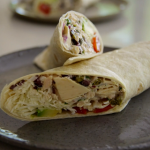 Tom Kerridge Italian style tuna and fennel wraps recipe on Tom Kerridge's Fresh Start