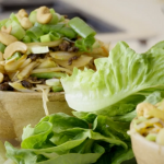 Tom Kerridge spicy beef stir fry in lettuce cups recipe on Tom Kerridge's Fresh Start