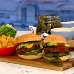 The Body Coach ultimate veggie burger recipe on This Morning