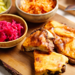 Jack Stein Welsh Rarebit with dry cider  recipe on Sunday Brunch