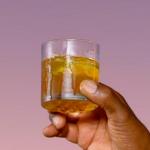 Ainsley Harriott corn oil cocktail with dark rum recipe on Ainsley's Caribbean Kitchen