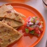 Parveen Ashraf potato and cauliflower parathas recipe on Parveen's Indian Kitchen