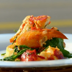 James Martin lobster with crumpet recipe on James Martin's Great British Adventure