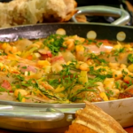 James Martin pork and apple stew recipe on James Martin's Great British Adventure