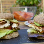 Tom Kerridge chicken and bacon ranch burgers recipe on Tom Kerridge's Fresh Start