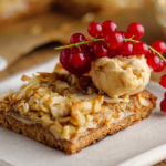 Simon Rimmer Anzac Caramel Bake recipe on Sunday Brunch