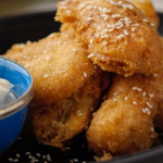 Simon Rimmer Spiced Banana Fritters recipe on Sunday Brunch