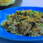 Parveen Ashraf chicken pilau with mango chutney recipe on Parveen's Indian Kitchen