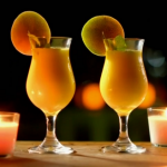 Ainsley Harriott mango and coconut rum daquiri recipe on Ainsley's Caribbean Kitchen