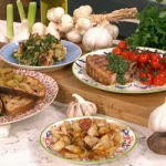 Phil Vickery Garlic Masterclass recipes on This Morning