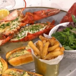 Jack Stein Sunday seafood lobster two ways recipe on This Morning