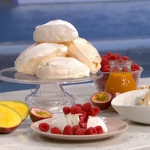 John Torode passion fruit pavlova recipe on This Morning