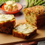 Simon Rimmer Asparagus with Tomato and Gruyere Loaf recipe on Sunday Brunch