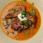 Simon Rimmer Lamb And Yoghurt Soup recipe on Sunday Brunch