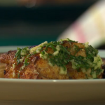 Tom Brown Monkfish and Spiced Aubergine With A Ginger, Basil and Lime Dressing recipe on Sunday Brunch
