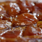 Lisa Faulkner tarte tatin with pears recipe on John and Lisa's Weekend Kitchen