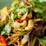 Simon Rimmer Peppered Tofu Soba Noodles recipe on Sunday Brunch