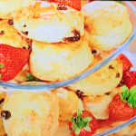 Anton du Beke scones with strawberry jam recipe on This Morning