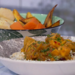 Angellica Bell Caribbean Chicken Curry recipe on Sunday Brunch