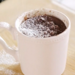 Lisa Faulkner chocolate cake in a mug recipe on John and Lisa's Weekend Kitchen