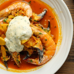 Simon Rimmer Crab and Prawn Stew recipe on Sunday Brunch