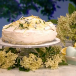 Phil Vickery lemon and elderflower pavlova recipe on This Morning