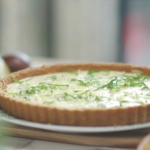 Lisa Faulkner passion fruit and key lime pie recipe on John and Lisa's Weekend Kitchen