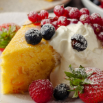 Simon Rimmer Limoncello with Raisin and Ricotta Cake recipe on Sunday Brunch