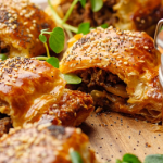 Simon Rimmer Beef And Pickled Onion Sausage Roll recipe on This Morning