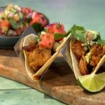 Sophie Michell Slow Roasted Pork Tacos With Watermelon Pico De Gallo recipe on Sunday Brunch